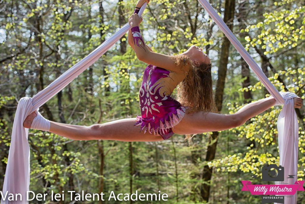 Luchtacrobatiek | Van Der Lei Talentacademie